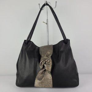 Vintage Miss Mak Black Leather Purse